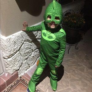 PJ Masks Gekko Costume 3T-4T
